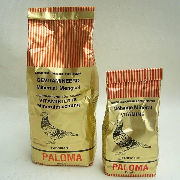 Paloma Vitaminiertes Mineralfutter