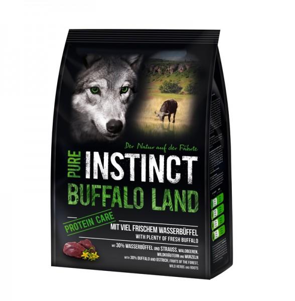 PURE INSTINCT Buffalo Land Adult Büffel & Strauß