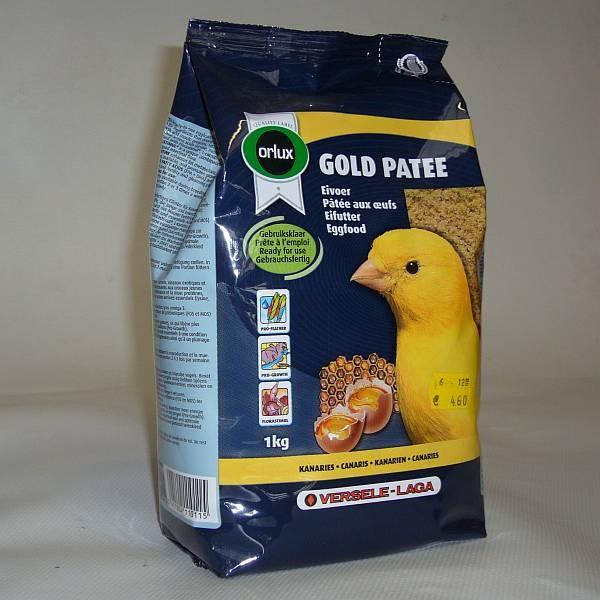 Orlux Gold Patee gelb, Eifutter feucht Kanarien