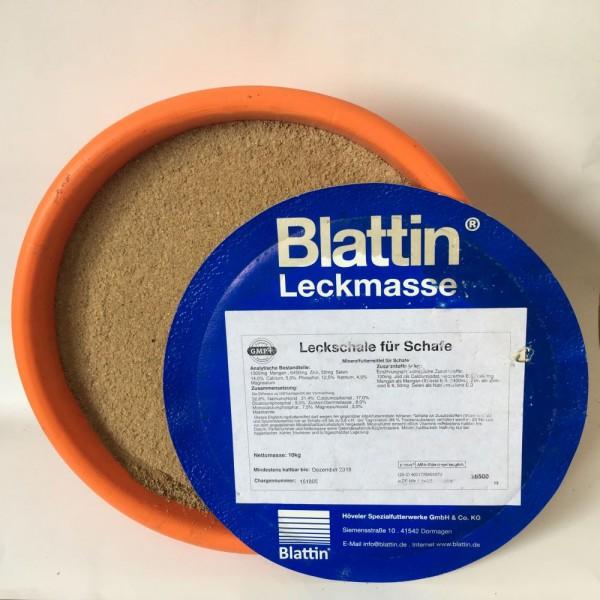 Blattin Mineralleckschale für Schafe und Ziegen