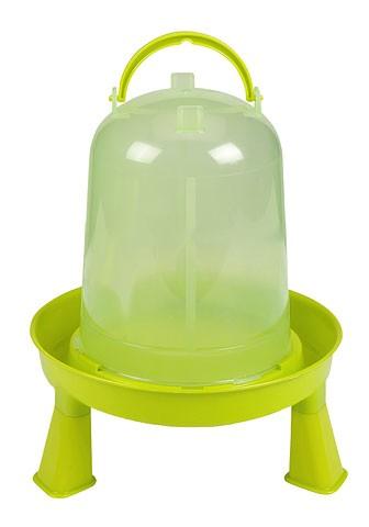 Kunststofftränke für Geflügel mit Standfüssen 3 Liter