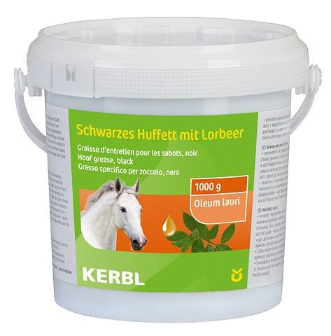 KERBL Pflegefett für Pferdehufe, schwarz