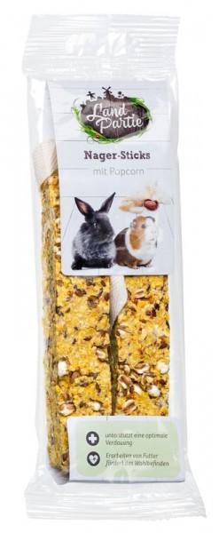 LANDPARTIE Nager Sticks mit Popcorn
