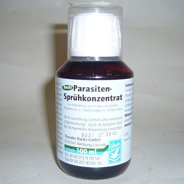 BACKS Parasiten-Sprühkonzentrat