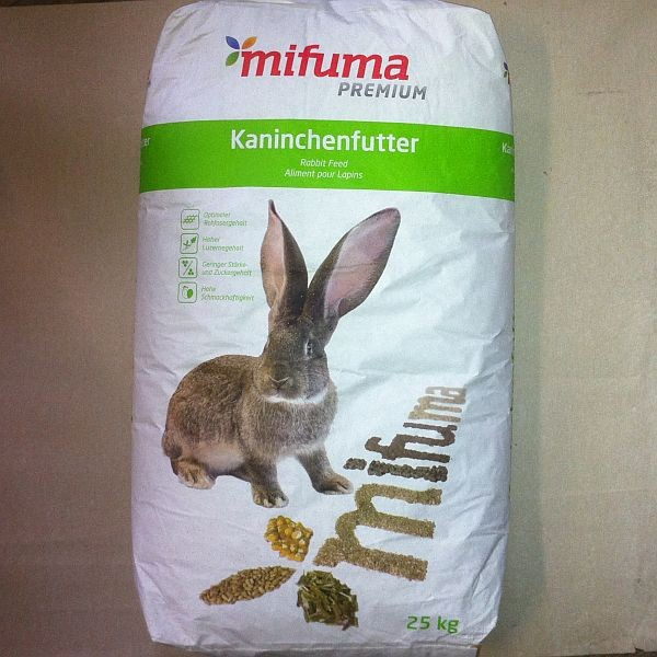 MIFUMA Kaninchen Zucht + Schau Pellets