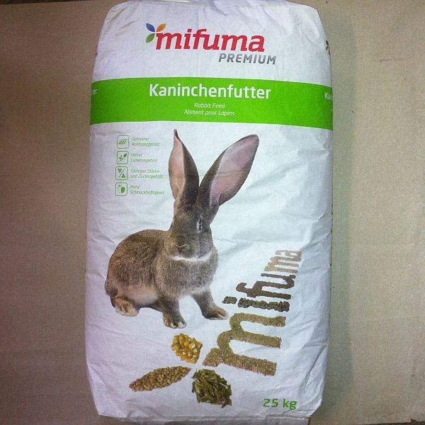 MIFUMA Kaninchen Kombi Pellets