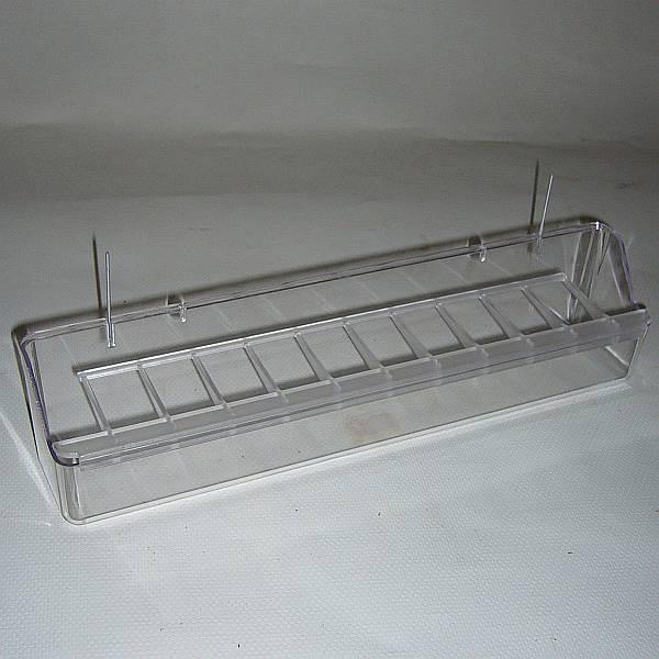 Futterbehälter mit Gitter
