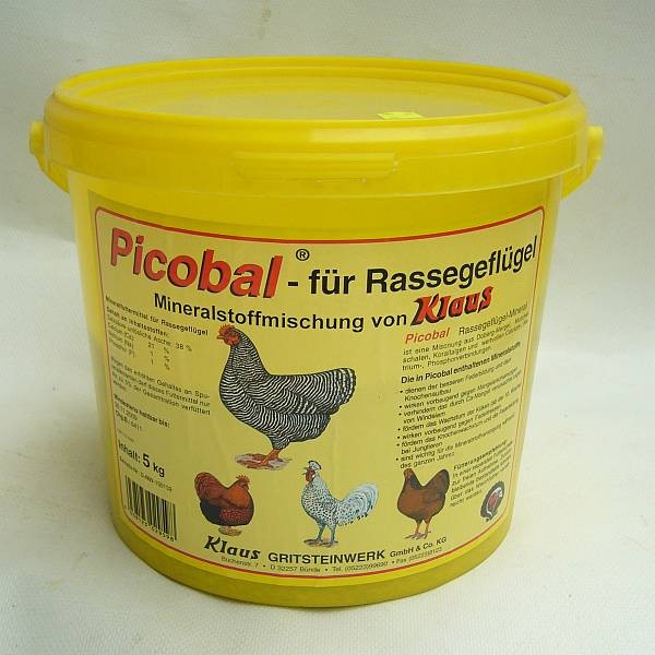 Klaus Picobal Rassegeflügel-Mineral