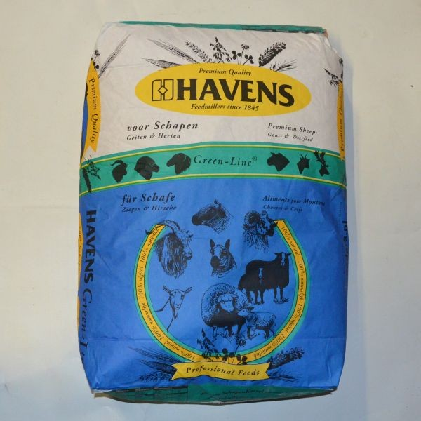 HAVENS Schafs-Konditions Pellets, 25 kg