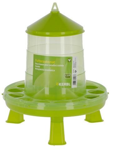 Geflügelfutterautomat PVC, 2,4 L/2 kg