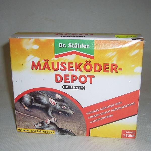 Dr. Stähler Mäuseköder-Depot