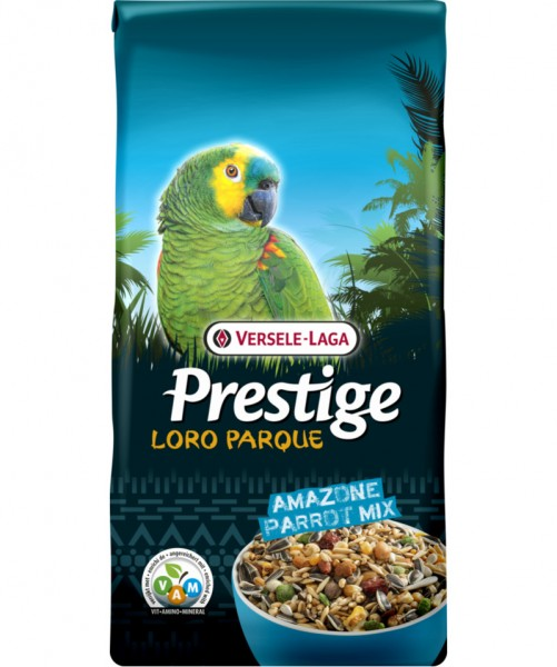 Prestige Loro Parque Amazone Parrot Papageien Mix