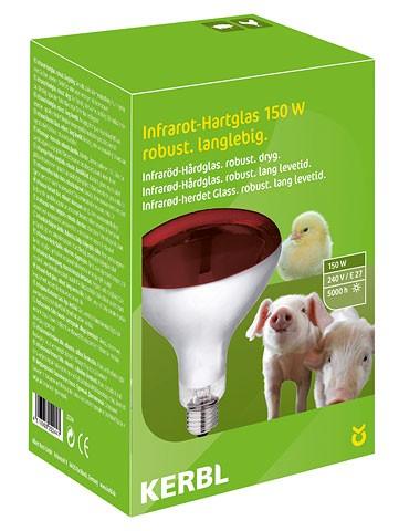 KERBL Hartglas-Infrarotlampe