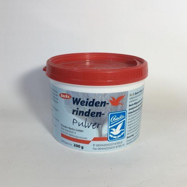 BACKS Weidenrindenpulver, 200 g