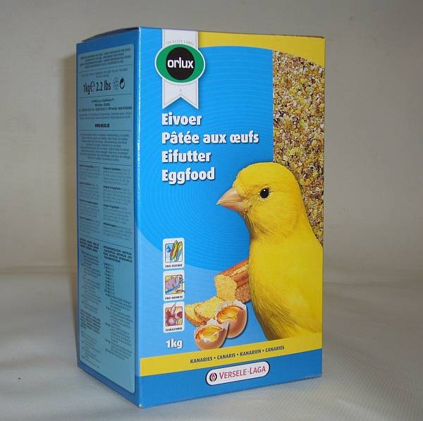 Orlux Eifutter trocken gelb Kanarien