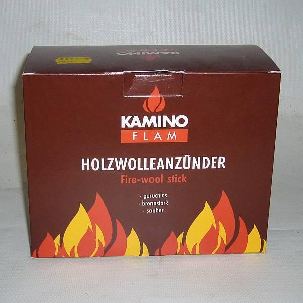 Kaminoflam Kaminanzünder Holzwolle