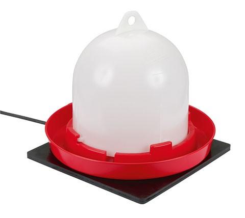 KERBL Heizplatte Gummi 24x24 cm