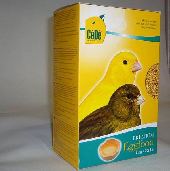 CeDe Eifutter gelb für Kanarien