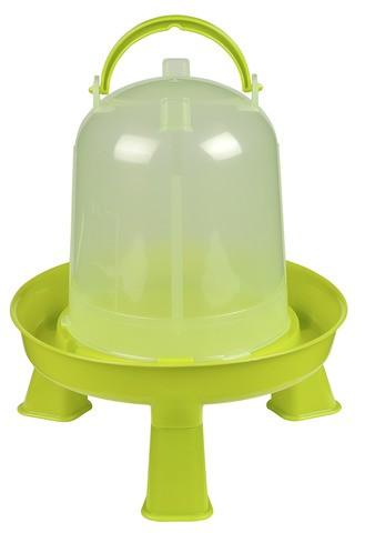 Kunststofftränke für Geflügel mit Standfüfen 1,5 Liter