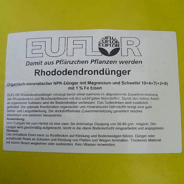 EUFLOR Profi Rhododendrondünger
