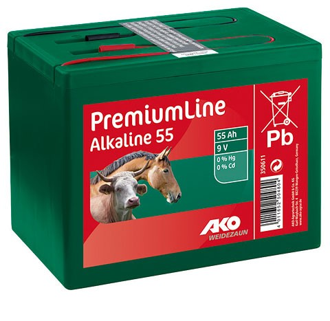 AKO Alkaline 9 Volt, Trockenbatterie