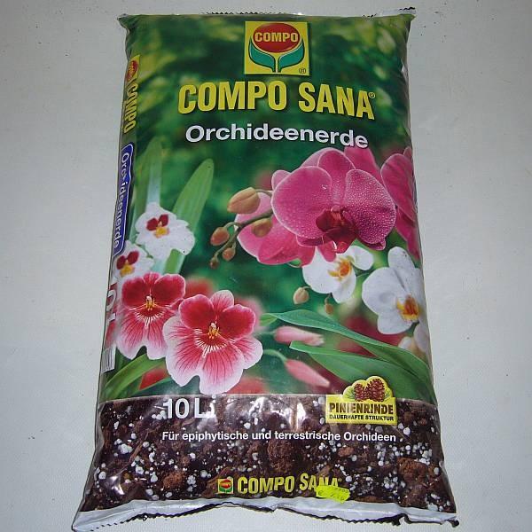 COMPO SANA Orchideenerde, 10 L