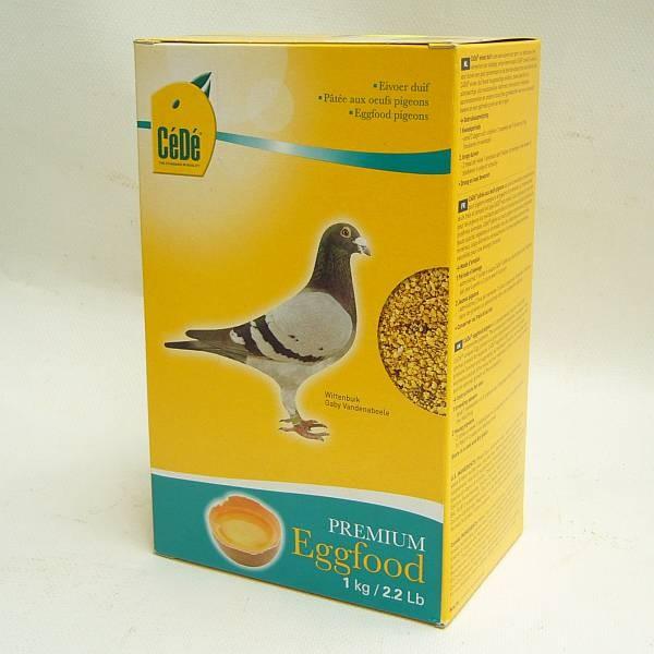 CeDe Eifutter für Tauben
