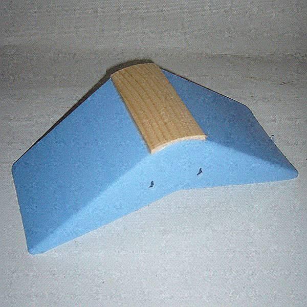 Dreiecksitz aus Kunststoff