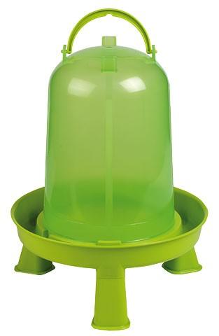 Kunststofftränke für Geflügel mit Standfüfen 10 Liter